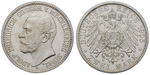 18848 Adolf Friedrich V., 2 Mark