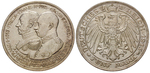 21772 Friedrich Franz IV., 5 Mark