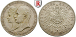 51579 Friedrich Franz IV., 5 Mark
